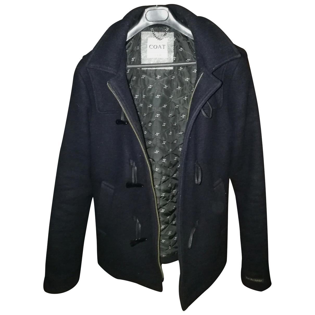 Non Signé / Unsigned \N Black Wool coat  for Men S International