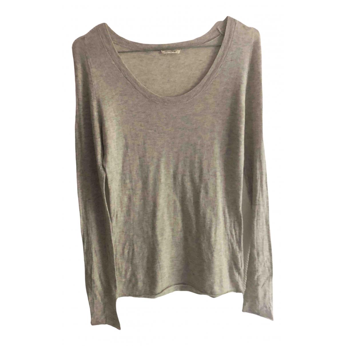 American Vintage \N Pullover in  Grau Baumwolle