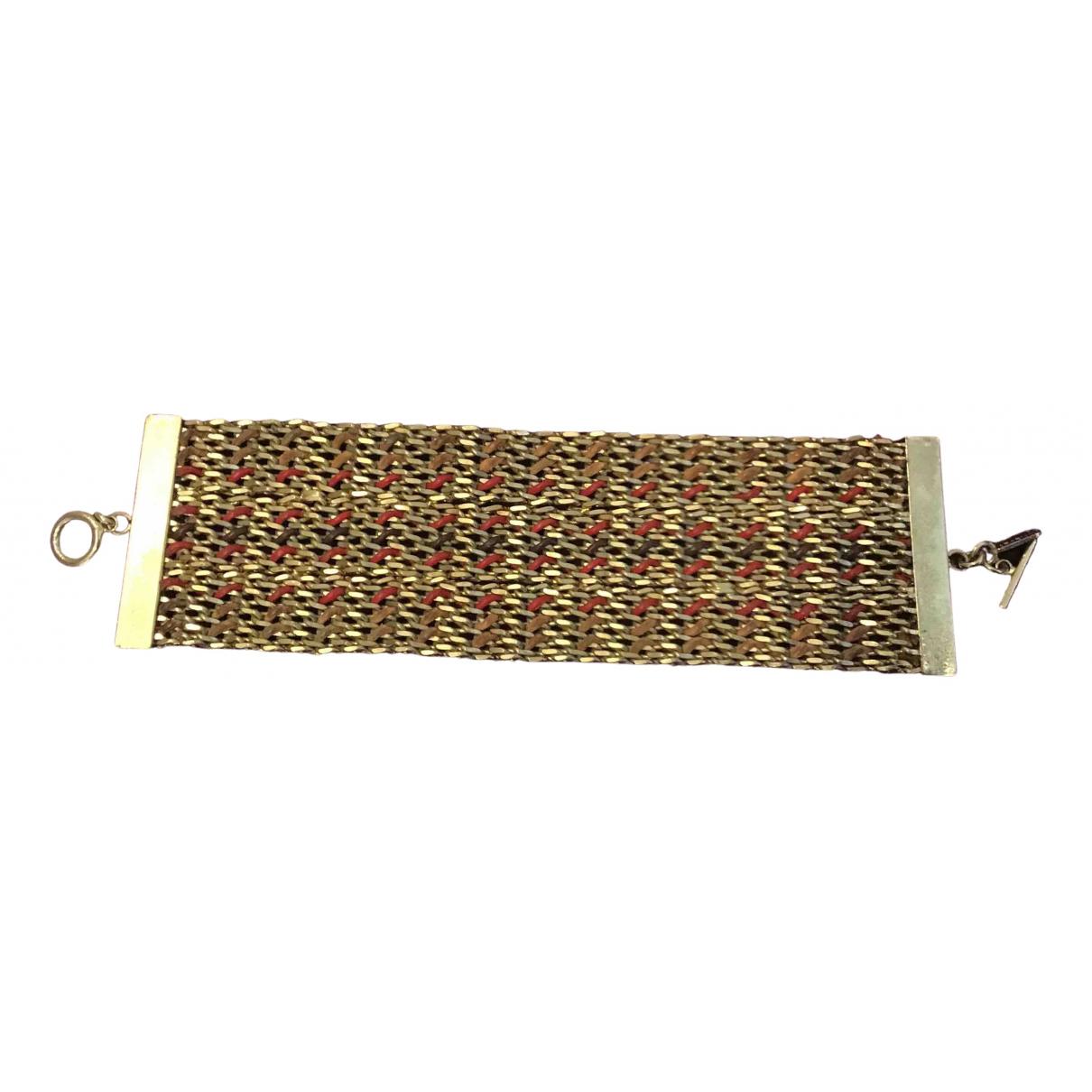 Karine Arabian N Gold Metal bracelet for Women N