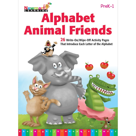 Alphabet Animal Friends Learning Flip Chart By Newmark Learning | Michaels®