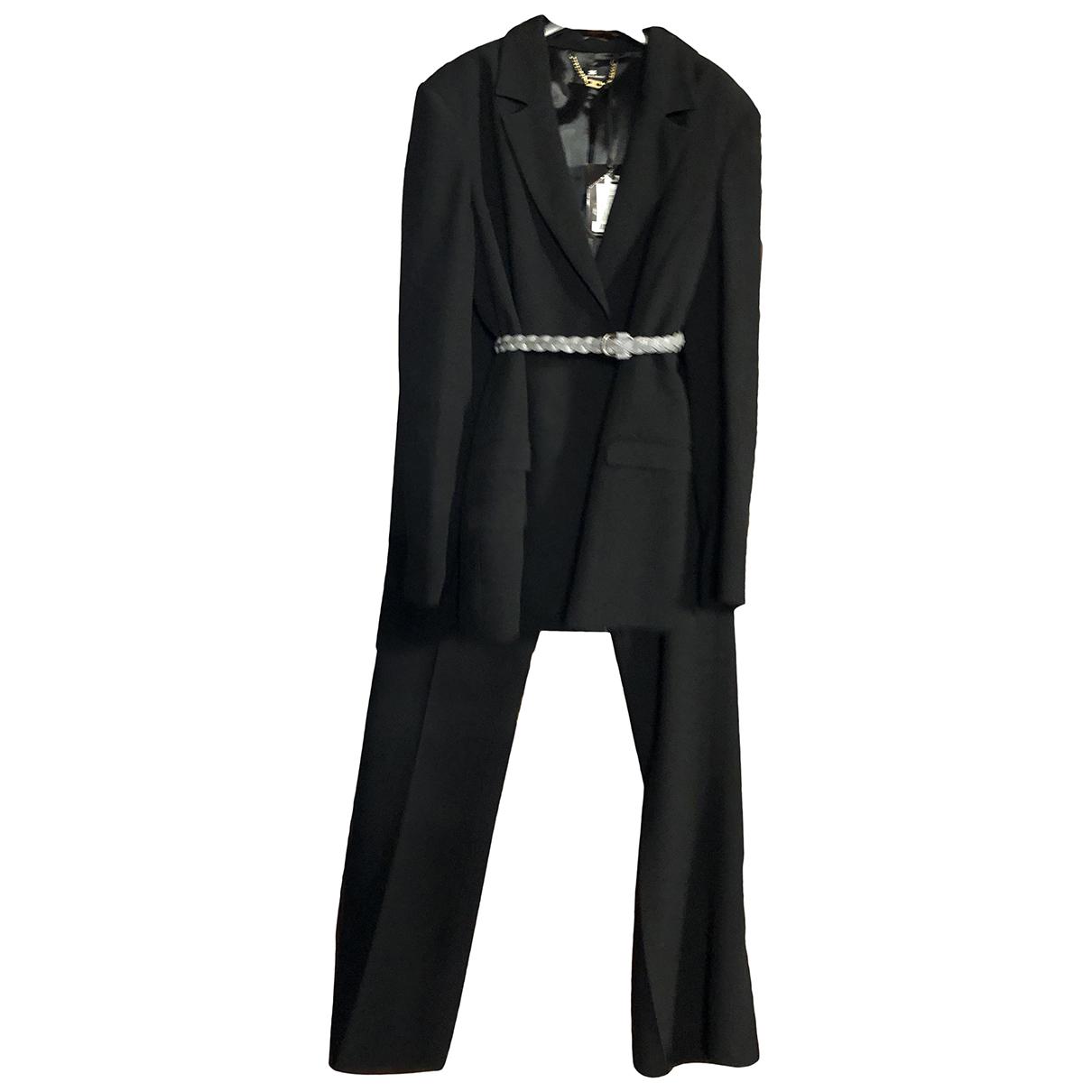 Elisabetta Franchi N Black Trousers for Women 48 IT
