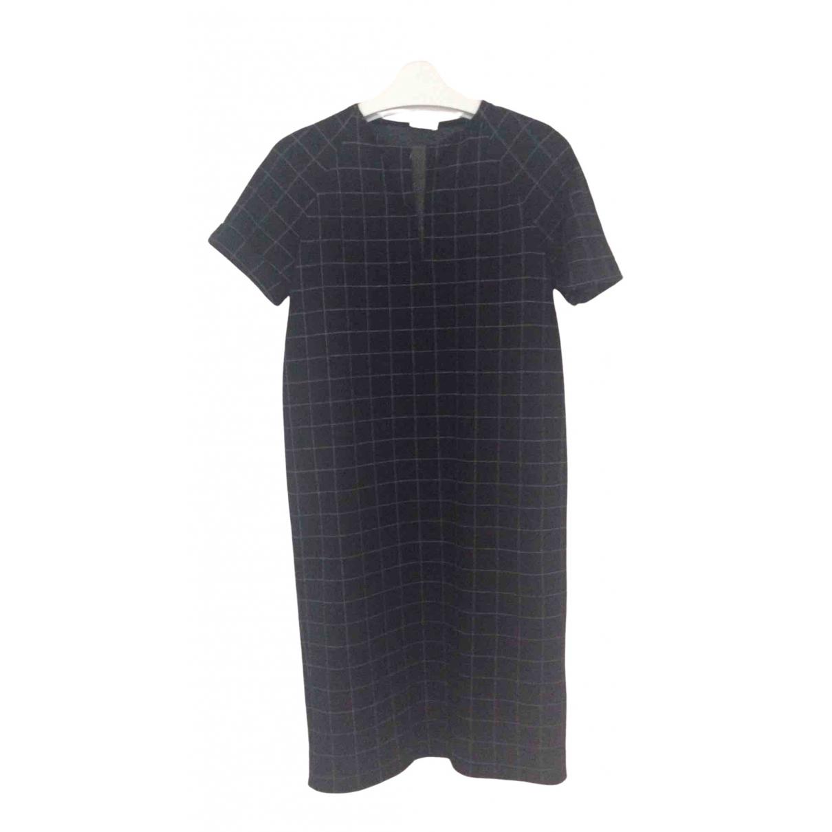 Brunello Cucinelli - Robe   pour femme en laine - bleu