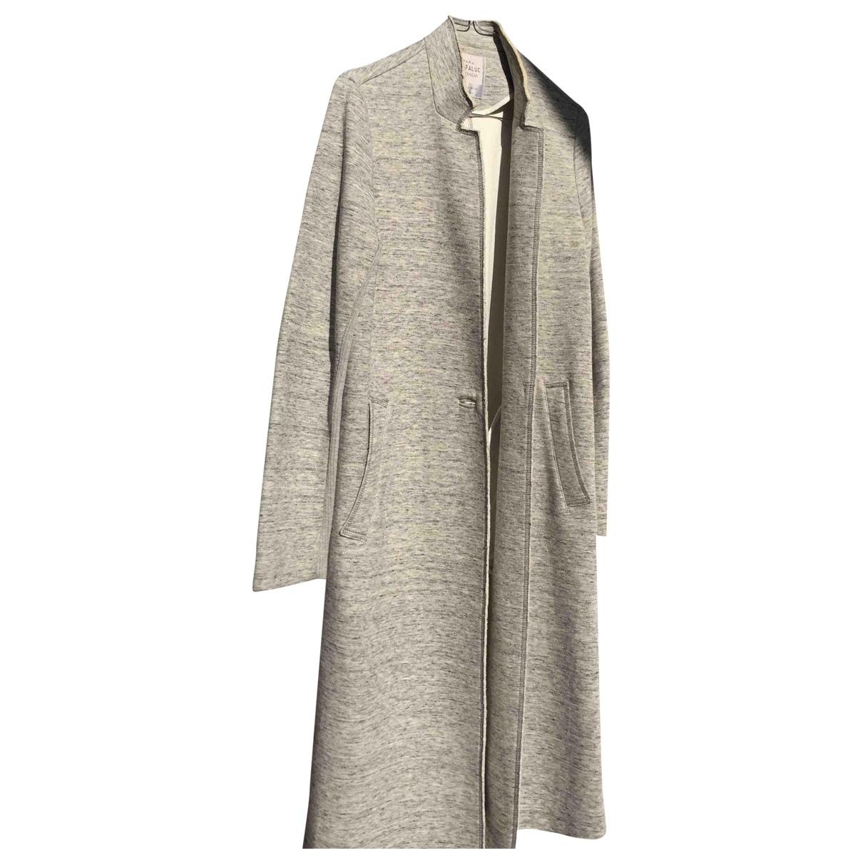 Zara \N Maentel in  Grau Baumwolle