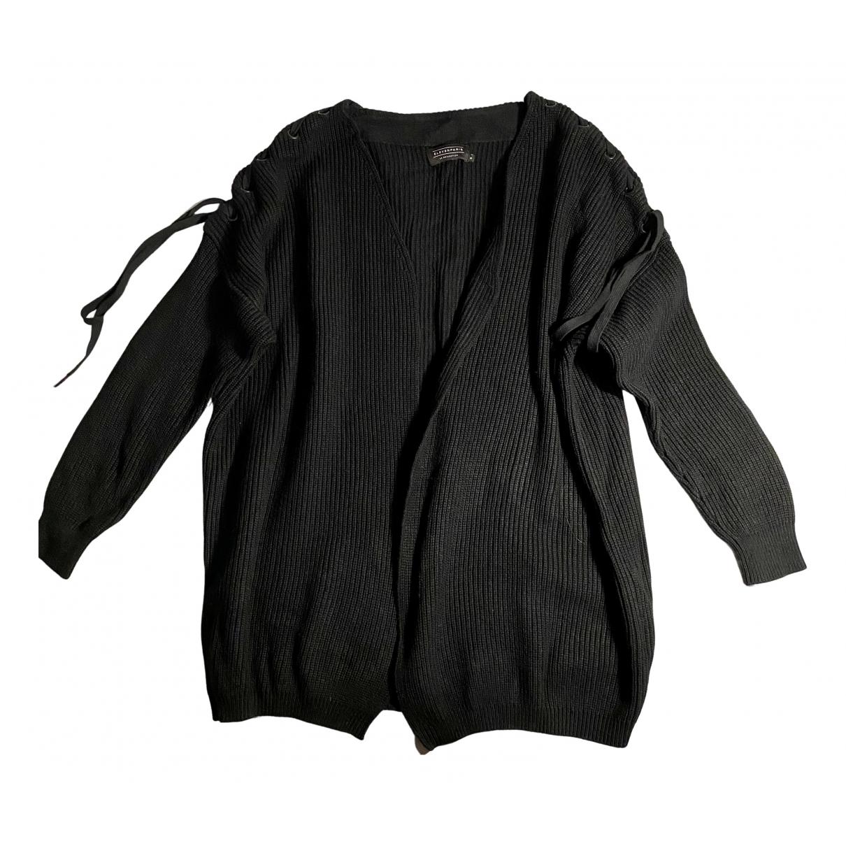 Eleven Paris N Black Cotton Knitwear for Women S International