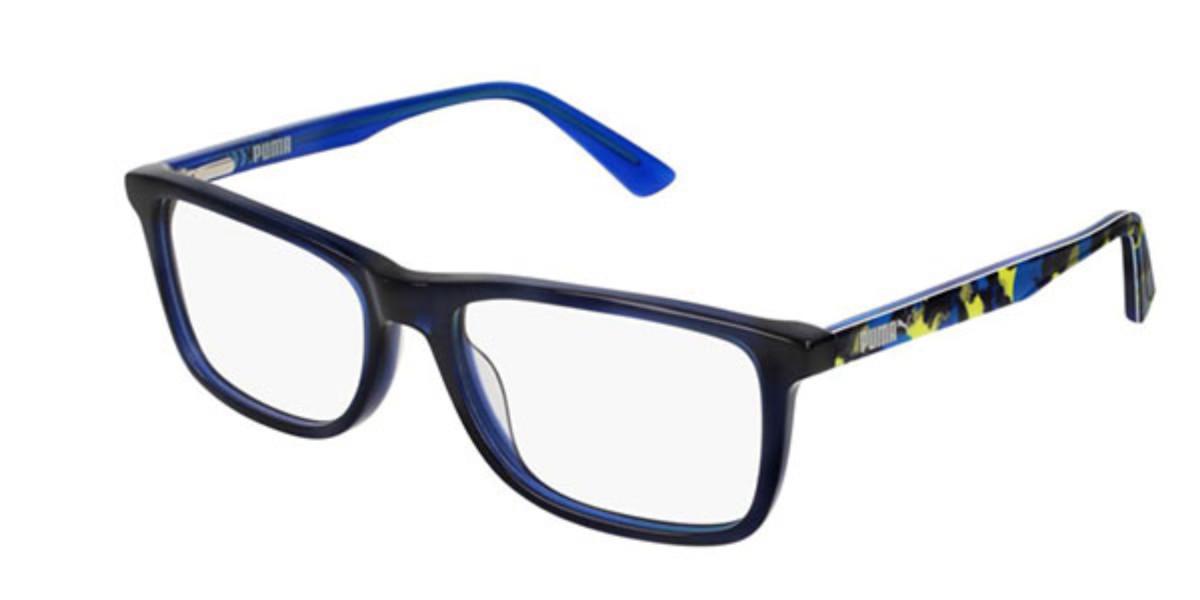 Puma PJ0020O Kids 002 Kids' Glasses Black Size 51 - Free Lenses - HSA/FSA Insurance - Blue Light Block Available