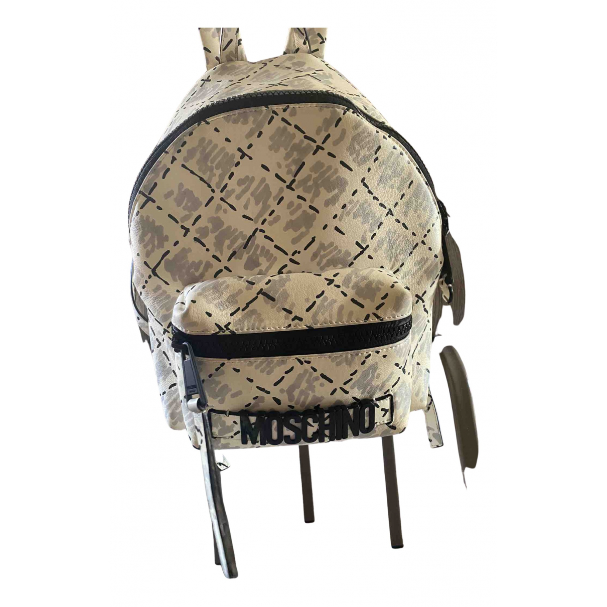 Moschino N Multicolour Leather backpack for Women N