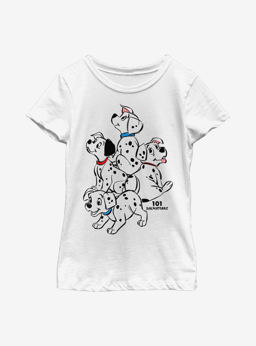 Disney 101 Dalmatians Big Pups Youth Girls T-Shirt