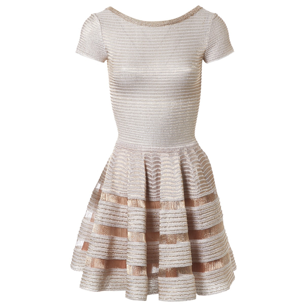 Alaïa \N Gold dress for Women 36 FR