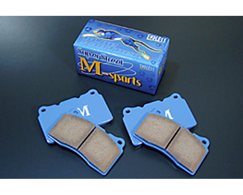 Endless EP 270 SSM FR SS-M Anti-Dust Brake Pads Front And Rear Honda Accord 3.0L Sedan 98-02