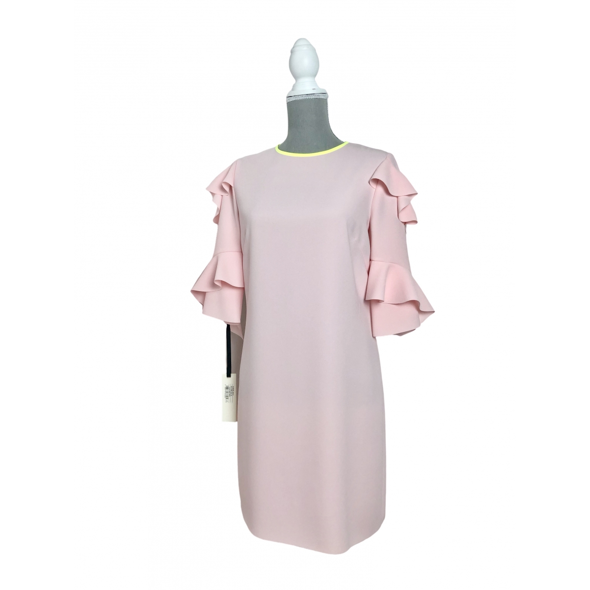 Pinko \N Kleid in  Rosa Synthetik
