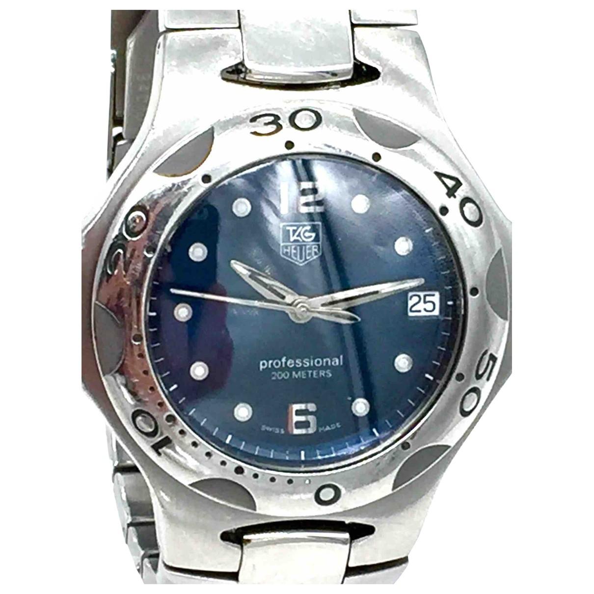 Tag Heuer \N Uhr in  Blau Stahl
