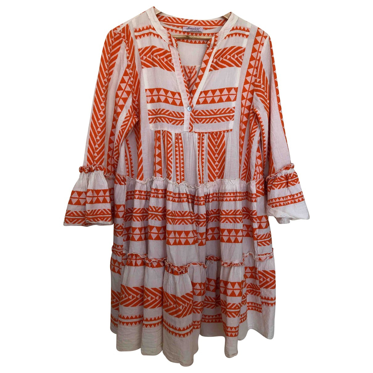 Non Signé / Unsigned Oversize Cotton dress for Women One Size 0-5
