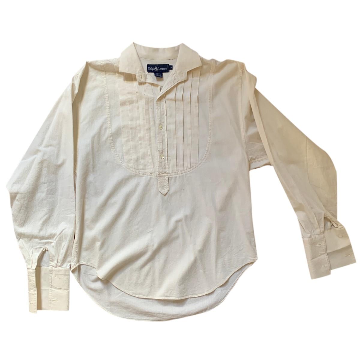 Ralph Lauren - Chemises   pour homme en coton - beige