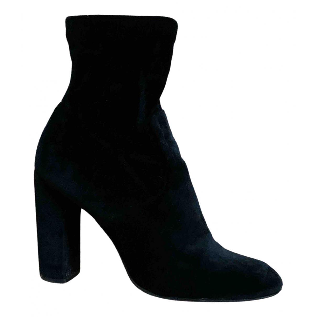 Steve Madden \N Black Velvet Heels for Women 38 IT