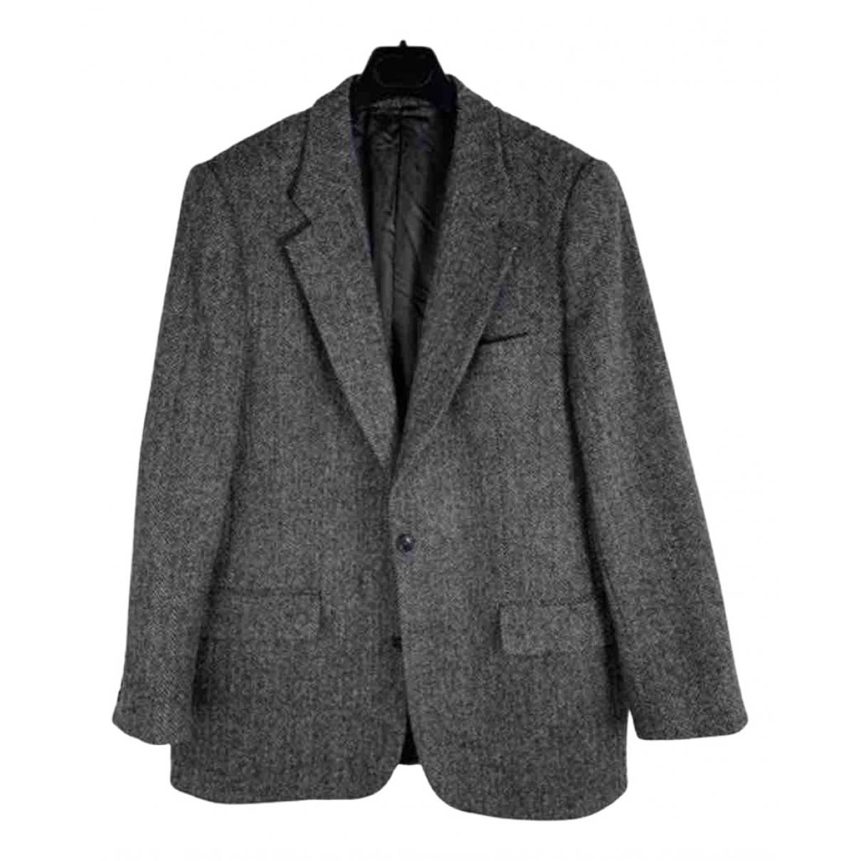 Harris \N Grey Wool jacket  for Men 52 IT