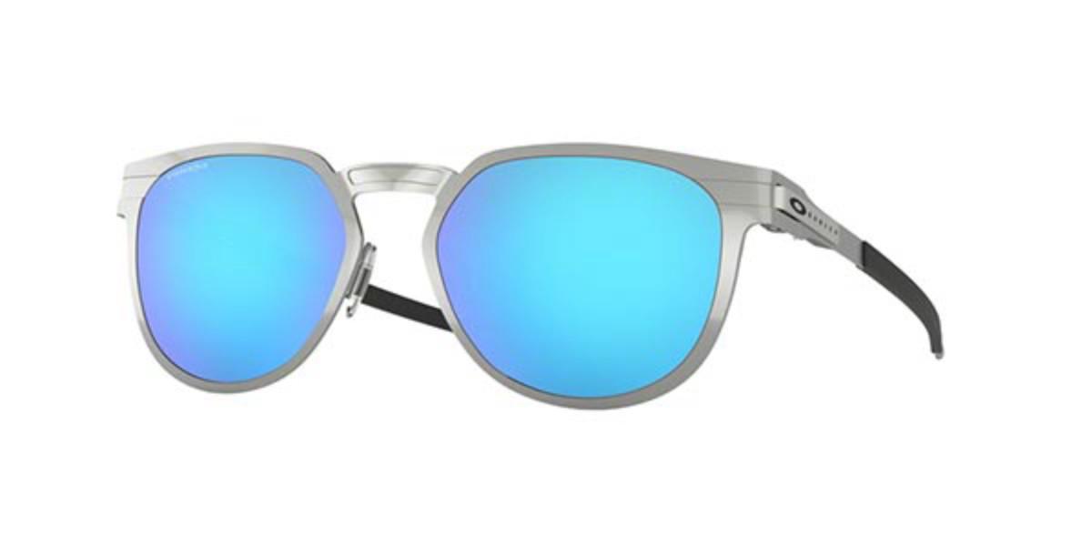 Oakley OO4137 DIECUTTER 413704 Men's Sunglasses Silver Size 55
