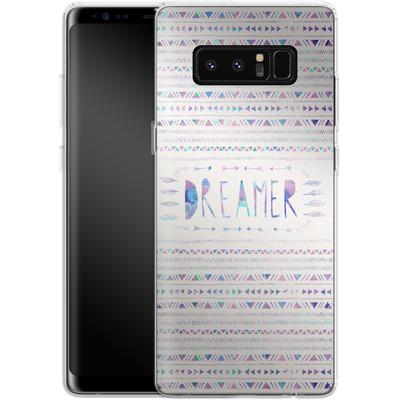 Samsung Galaxy Note 8 Silikon Handyhuelle - Dreamer von Bianca Green