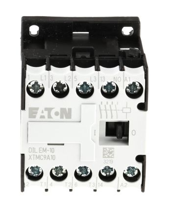 Eaton 3 Pole Contactor - 9 A, 230 V ac Coil, xStart, 3NO