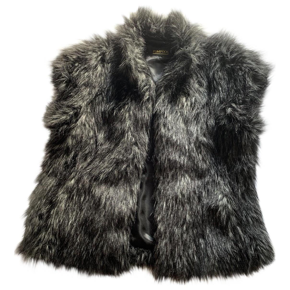 Non Signé / Unsigned Oversize Black jacket for Women M International
