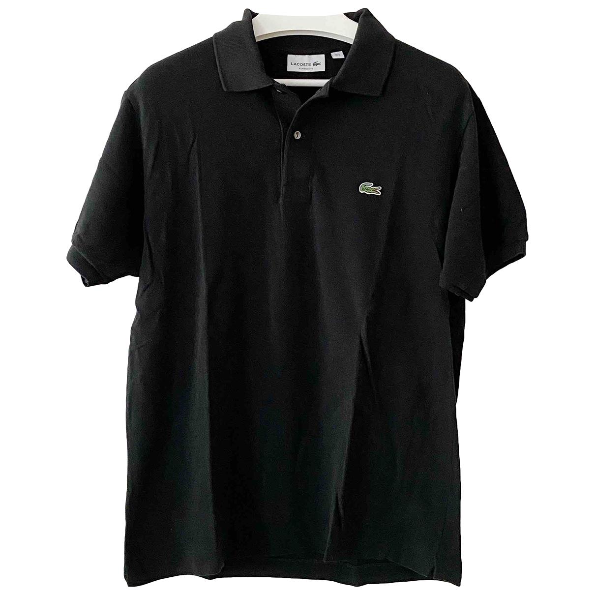 Lacoste \N Black Cotton Polo shirts for Men L International