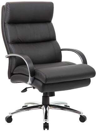 B994-BK Heavy Duty Executive Chair- 400 Lbs  In