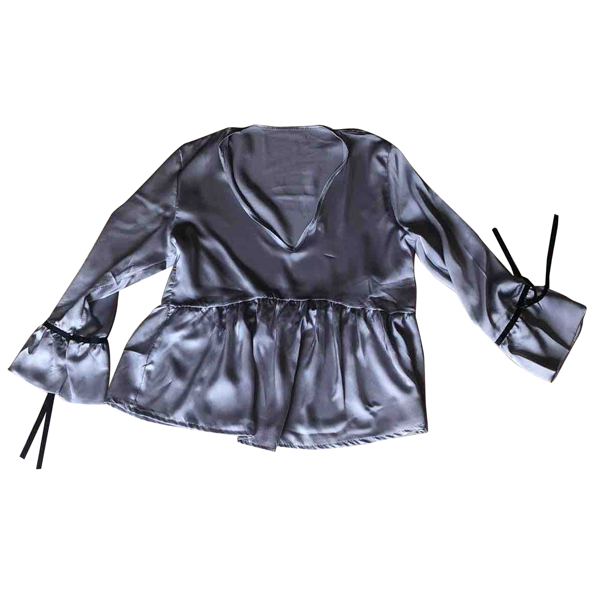 Non Signé / Unsigned \N Grey  top for Women One Size International