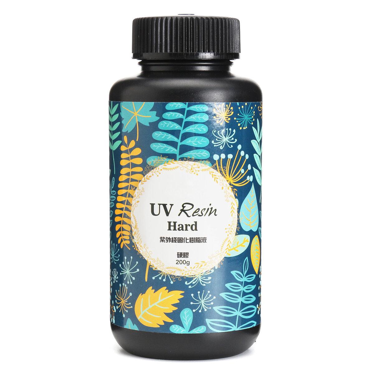 UV Resin Hard Ultraviolet Solar Sunlight Curing Cure Activated Crystal Glue 25/60/100/200g
