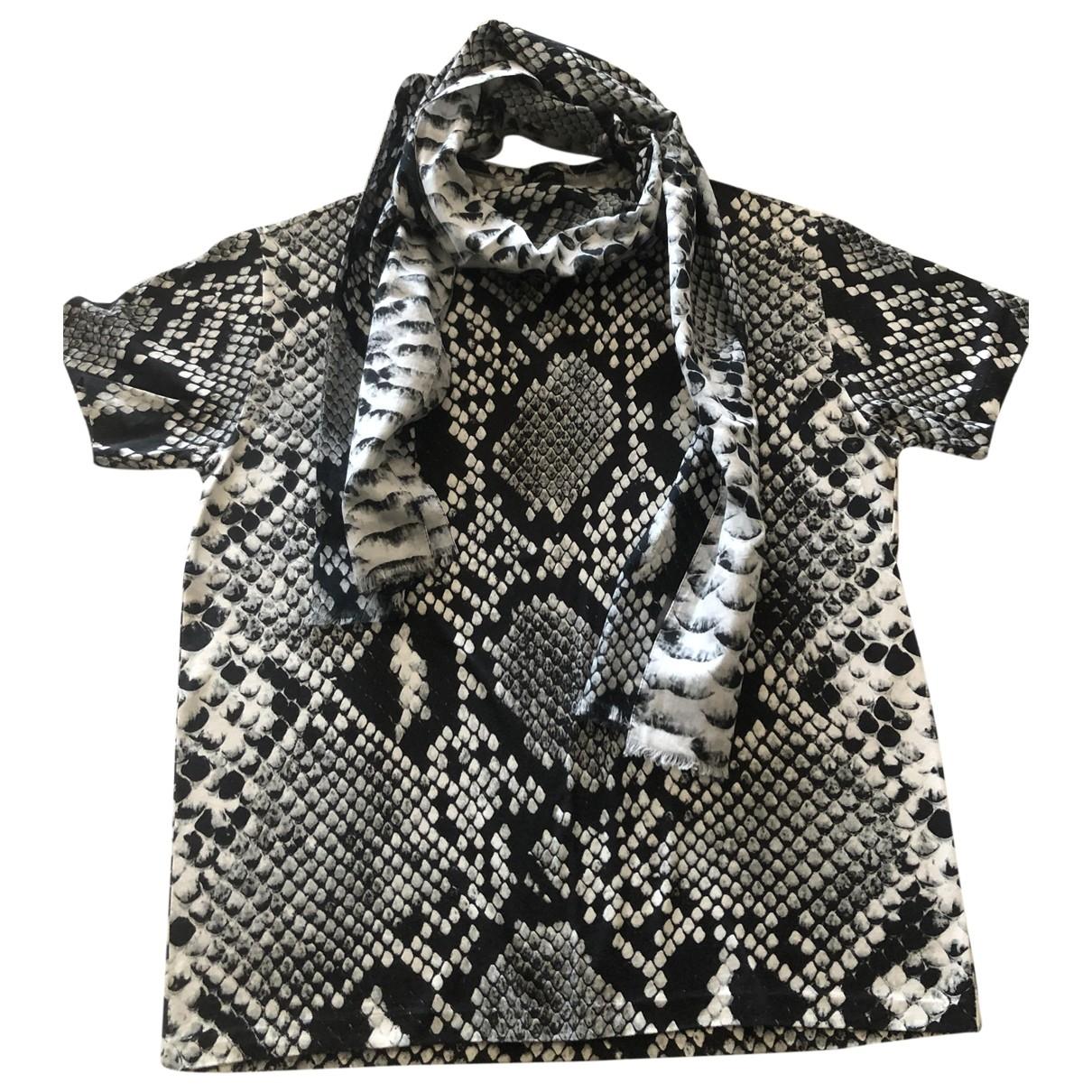 Jil Sander - Tee shirts   pour homme en coton - gris