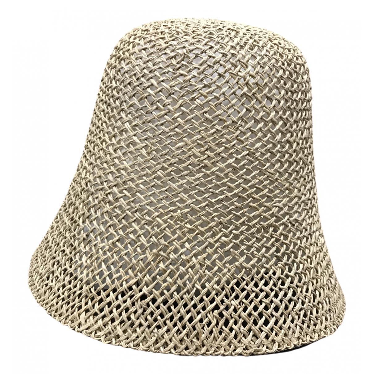 Max Mara 's N Camel Wicker hat for Women 58 cm