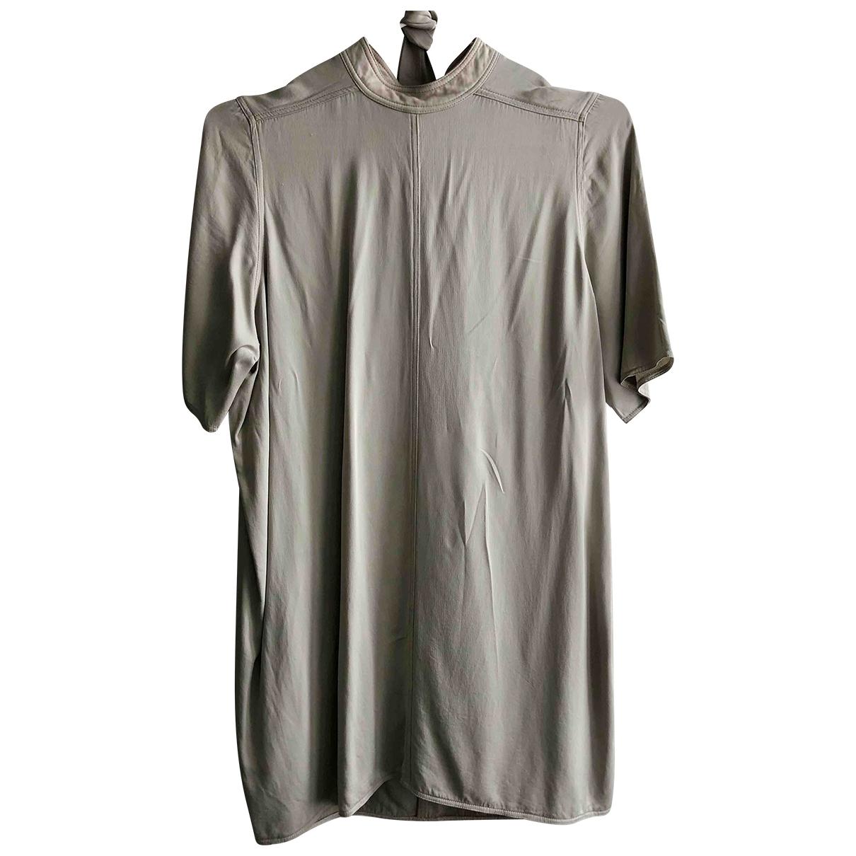 Rick Owens \N Kleid in  Grau Viskose
