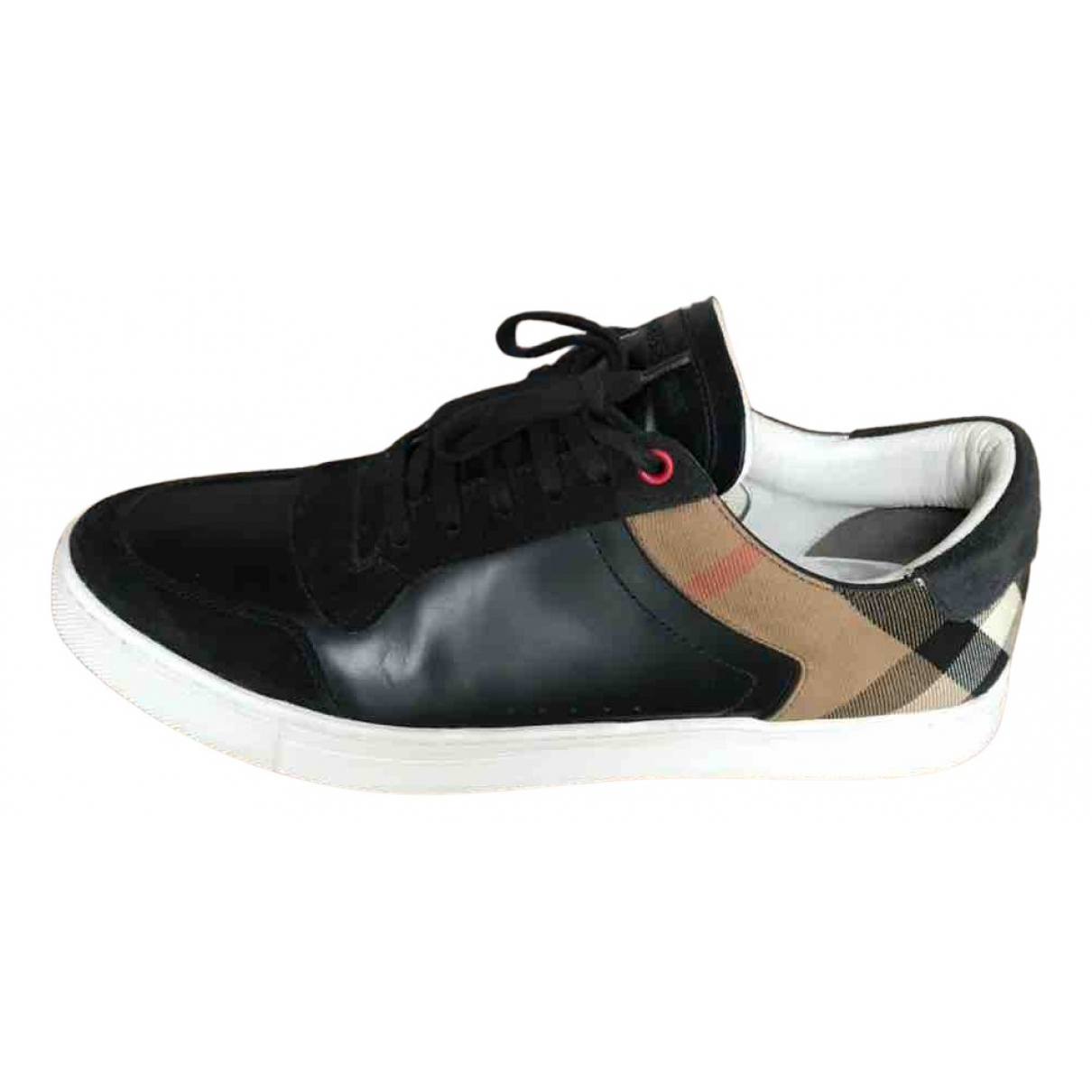 Burberry N Black Leather Trainers for Men 45 EU