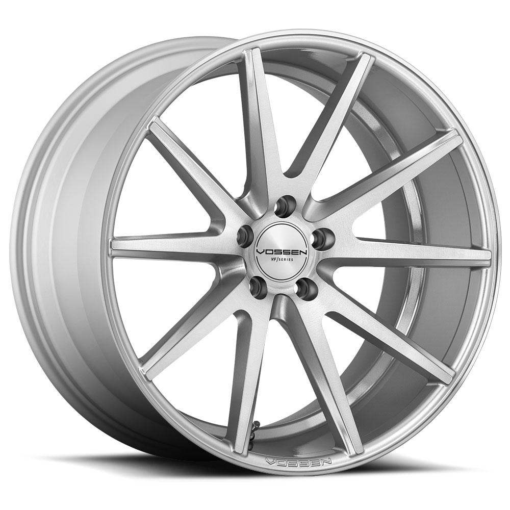Vossen VFS1-0B03 Wheels VFS1 Silver Brush Face 20x9 5x120 35
