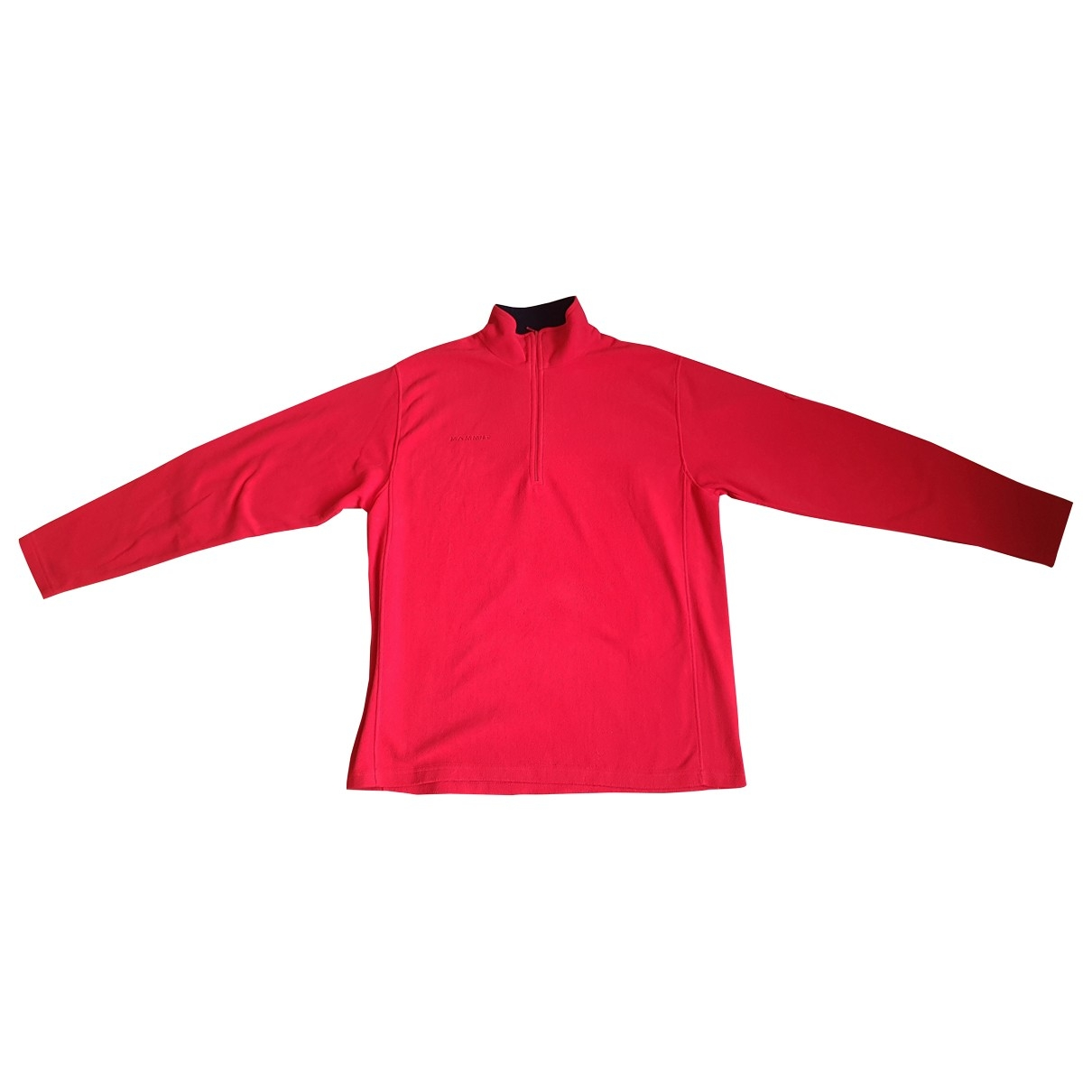 Non Signe / Unsigned \N Pullover.Westen.Sweatshirts  in  Rot Polyester