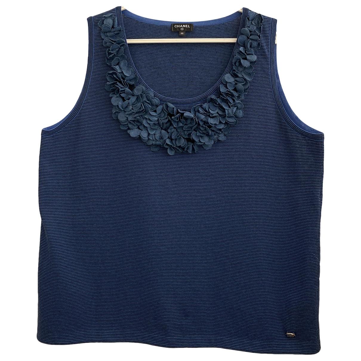 Chanel - Top   pour femme en coton