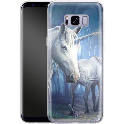 Samsung Galaxy S8 Plus Silikon Handyhuelle - Follow Me von Lisa Parker