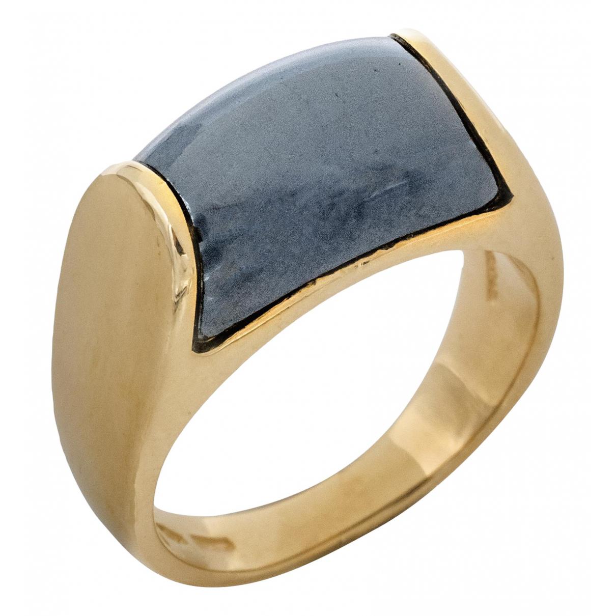 Bvlgari Tronchetto Ring in  Gold Gelbgold