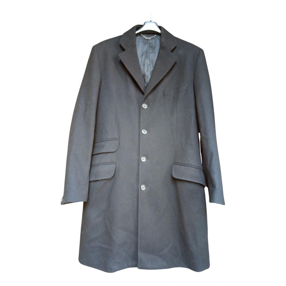 Dolce & Gabbana N Black Wool coat  for Men 48 IT