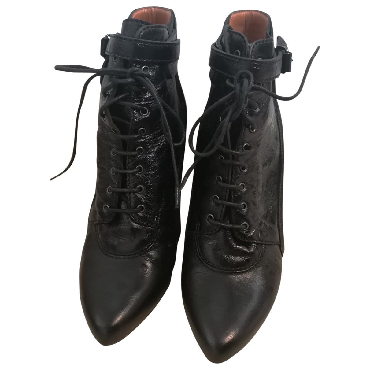 Botas con cordones de Cuero Givenchy