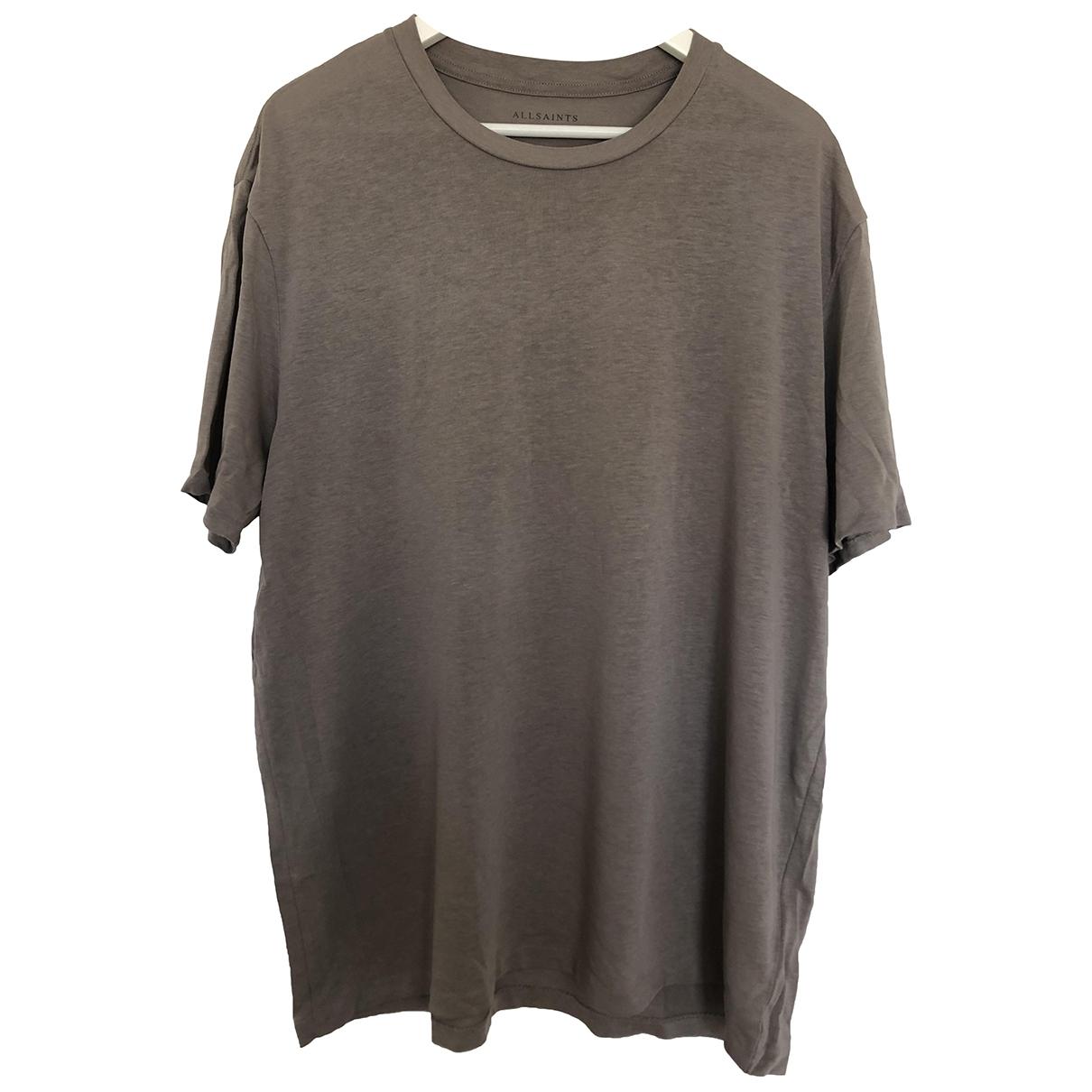 All Saints \N T-Shirts Grau