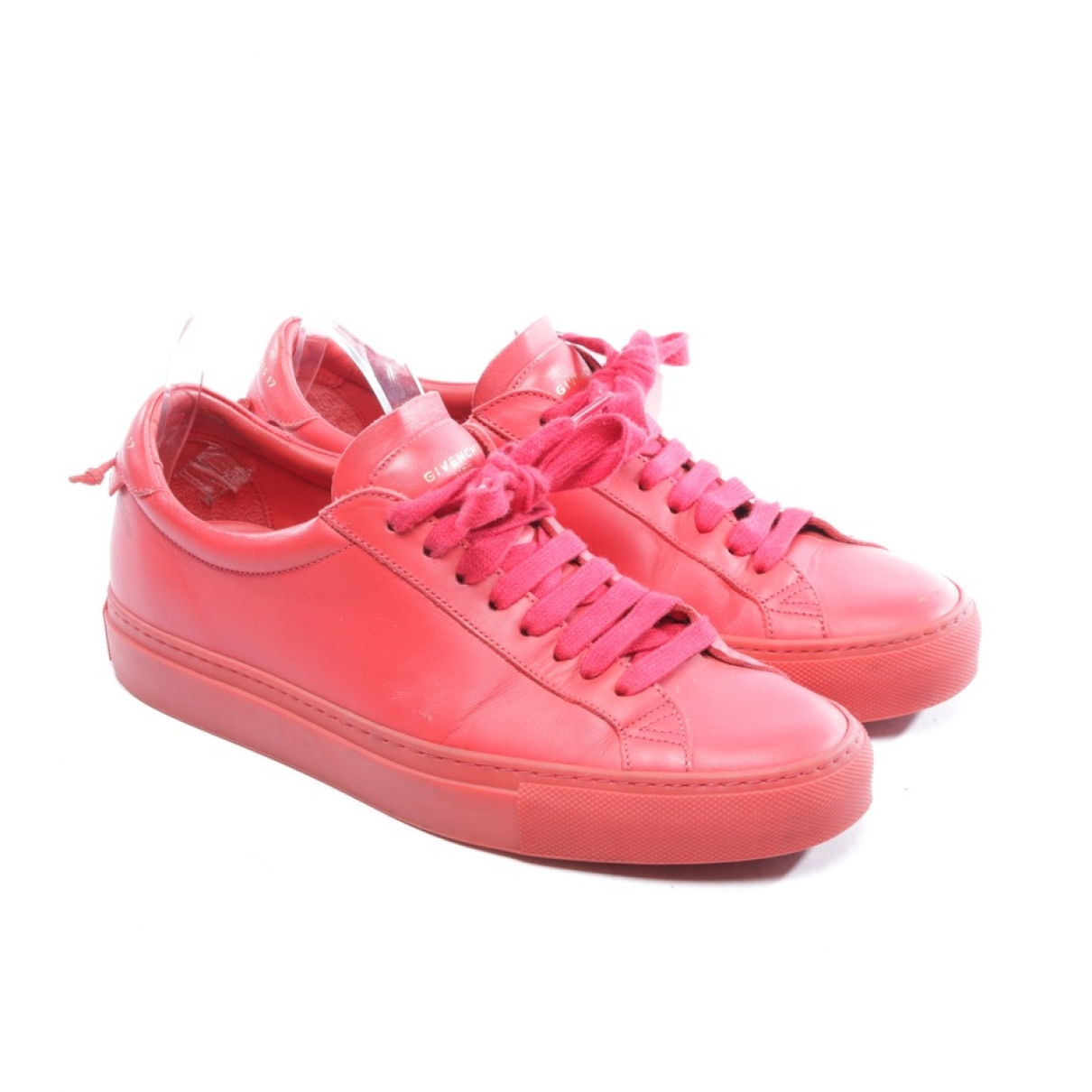 Givenchy \N Sneakers in  Rot Leder