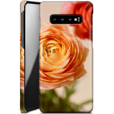 Samsung Galaxy S10 Plus Smartphone Huelle - She Loved Flowers von Joy StClaire