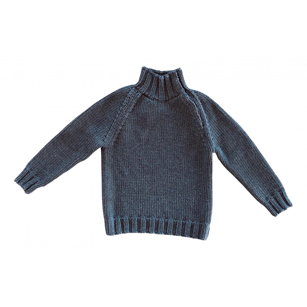 Tom Ford \N Pullover in  Anthrazit Seide