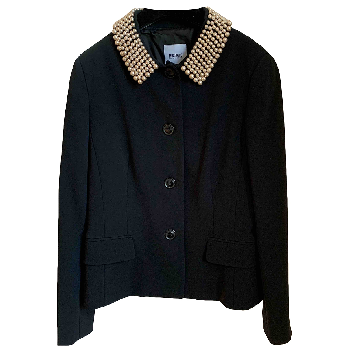 Moschino Cheap And Chic \N Black jacket for Women 46 IT