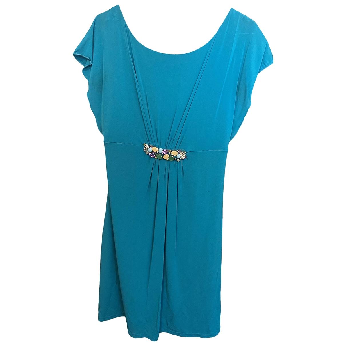 Marella \N Kleid in  Tuerkis Viskose