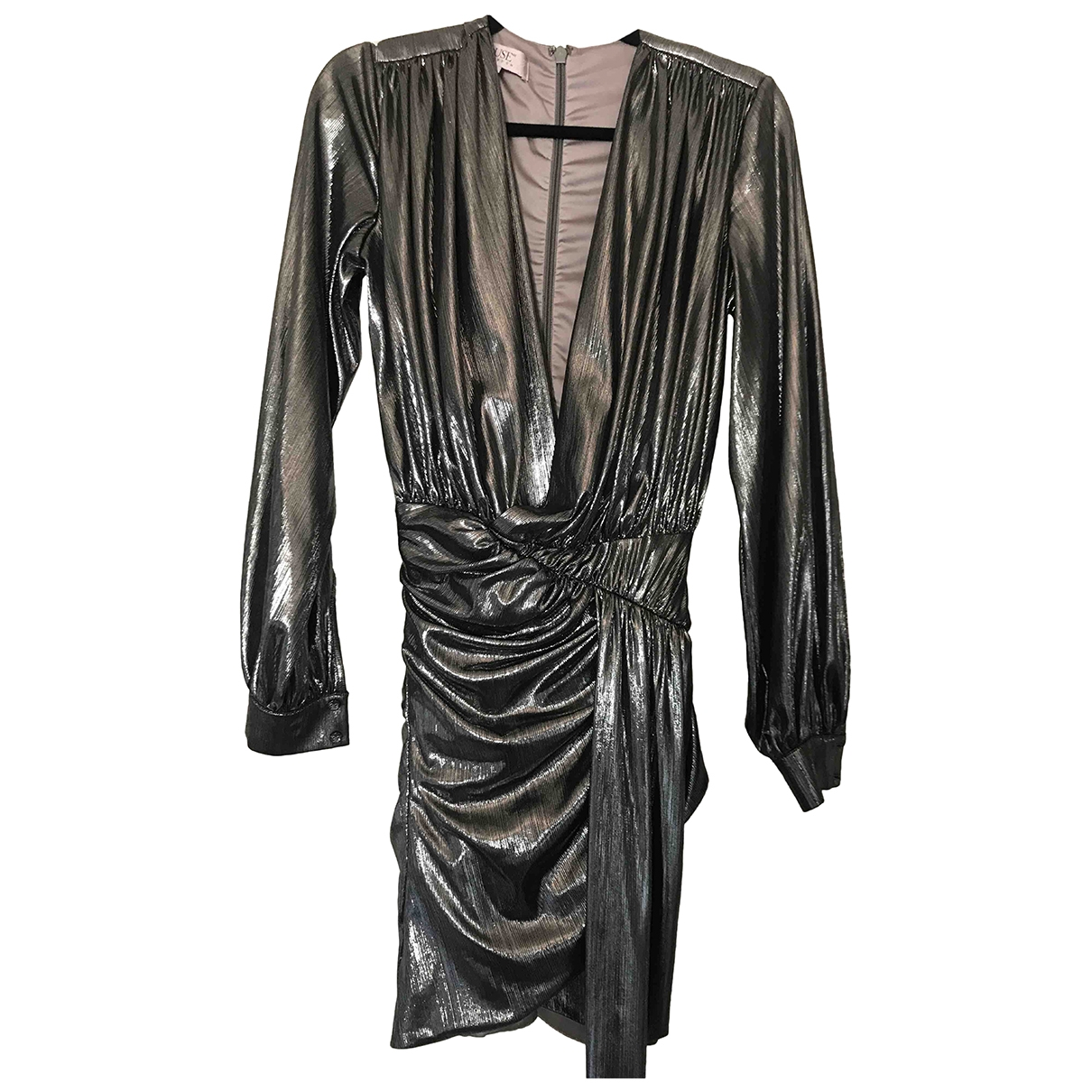 House Of Cb \N Metallic dress for Women S International