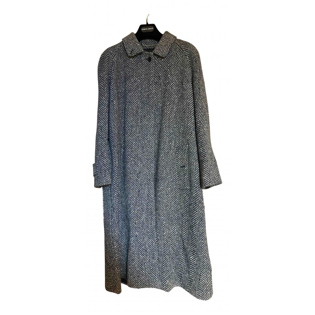 Daks - Manteau   pour femme en laine - noir