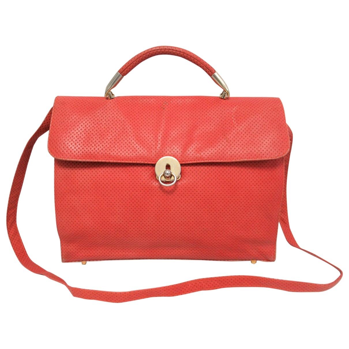 Charles Jourdan \N Handtasche in  Rot Leder