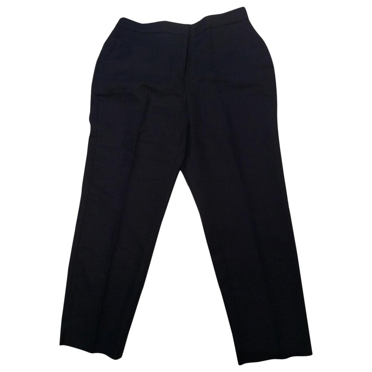 J.crew \N Navy Linen Trousers for Women 12 UK