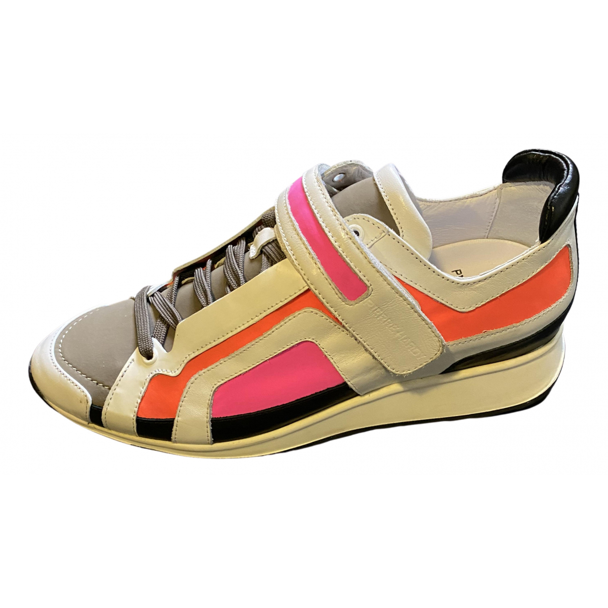 Pierre Hardy N Multicolour Leather Trainers for Men 40 EU