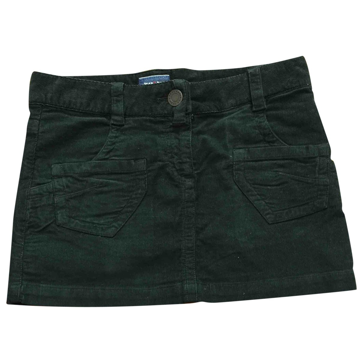 Jean Paul Gaultier \N Green Velvet skirt for Women 40 IT